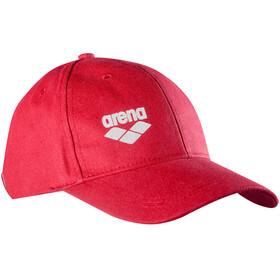 arena Baseball Cap, rood
